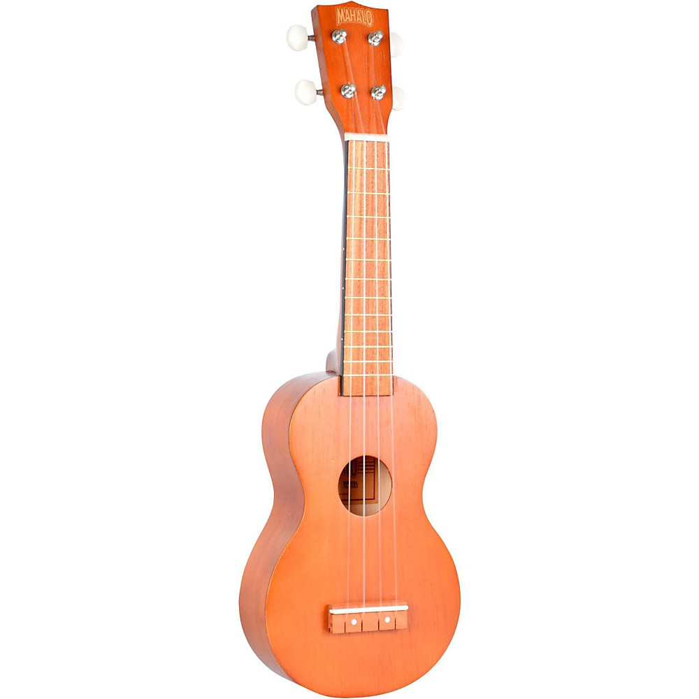 mahalo kahiko series mk1 soprano ukulele transparent brown ebay. Black Bedroom Furniture Sets. Home Design Ideas