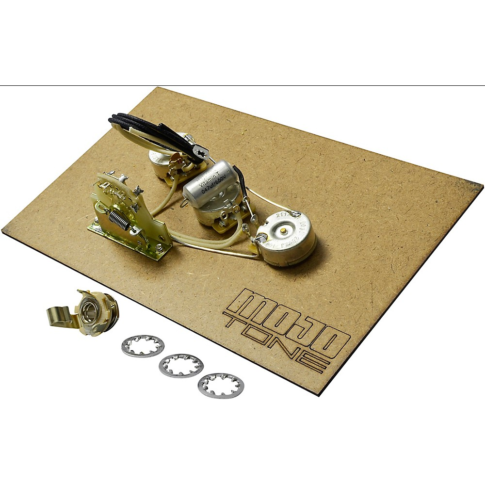 mojotone pre wired strat standard 5 way wiring kit ebay. Black Bedroom Furniture Sets. Home Design Ideas