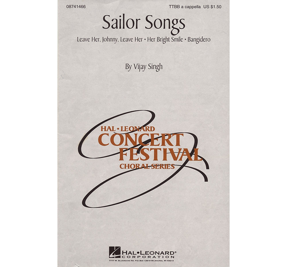 Details about Hal Leonard Sailor Songs (Collection) TTBB A Cappella  arranged by Vijay Singh