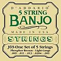 D'AddarioJ69 5-String Banjo PB Light Loop Strings thumbnail