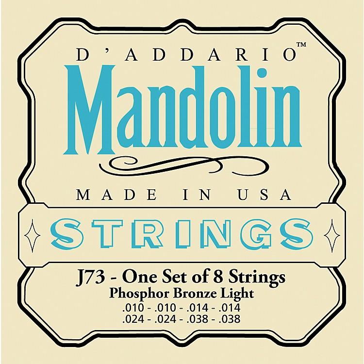 D'AddarioJ73 Phosphor Bronze Light Mandolin Strings