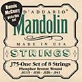 D'AddarioJ75 Medium/Heavy Phosphor Bronze Wound Bluegrass Mandolin Strings thumbnail
