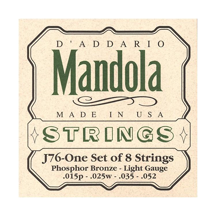 D'AddarioJ76 Mandola PB Light Mandolin Strings