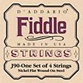 D'AddarioJ90 Fiddle 4/4 Size Chrome/Steel String Set-thumbnail