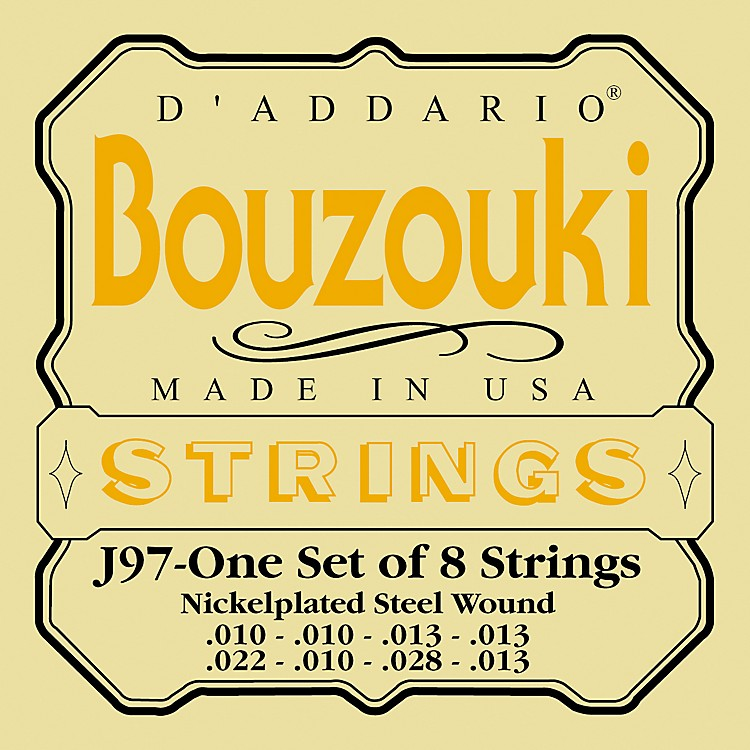 D'AddarioJ97 Bouzouki String Set