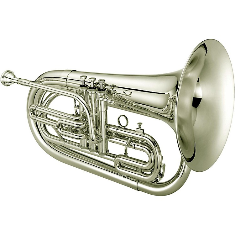Jupiter JBR1100M Quantum Series Bb Marching Baritone Silver