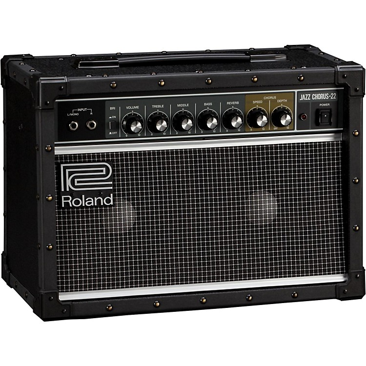 Roland JC-22 Jazz Chorus 30W 2x6.5 Guitar Combo Amplifier Black