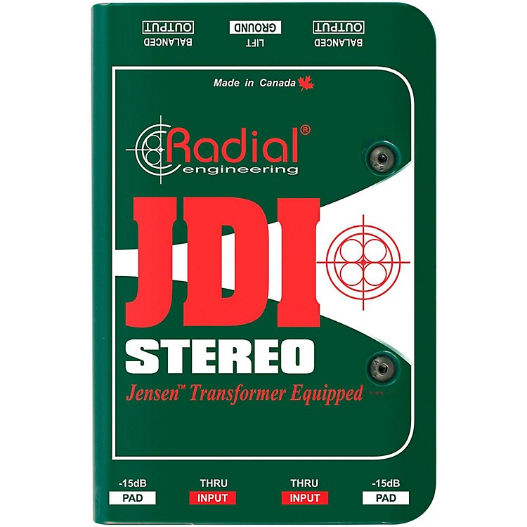 Radial Engineering JDI Stereo Passive Direct Box