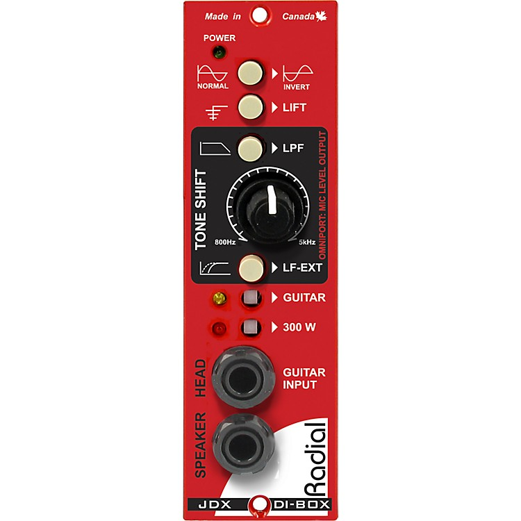 Radial EngineeringJDX 500 Reactor Amplifier Direct Box & Cabinet Emulator