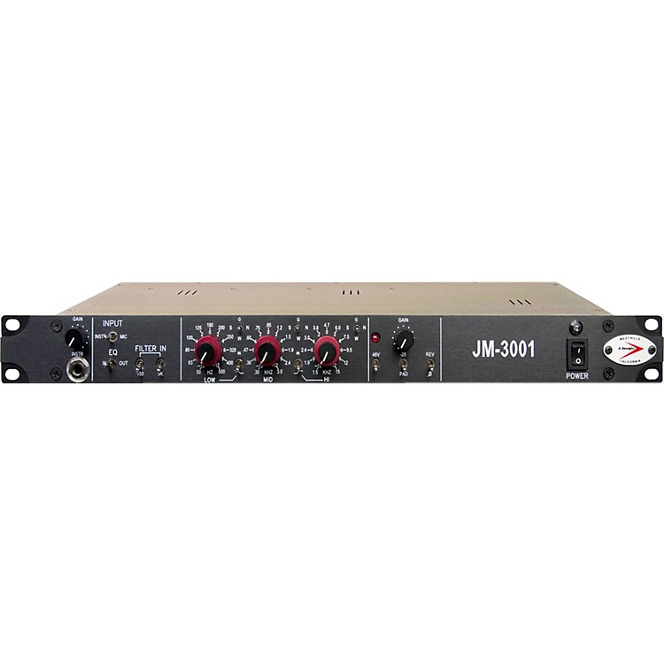 A Designs JM3001 Solid State Mic Pre with EQ