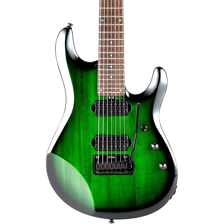 Sterling by Music ManJP70 7-String  Electric GuitarTransparent Green Burst