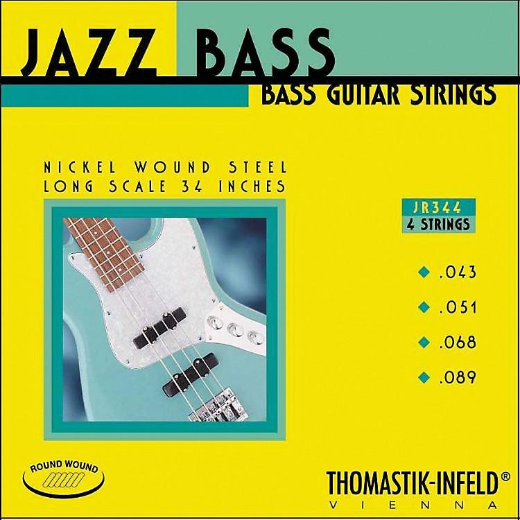 ThomastikJR344 Scale Roundwound 4-String Jazz Bass Strings