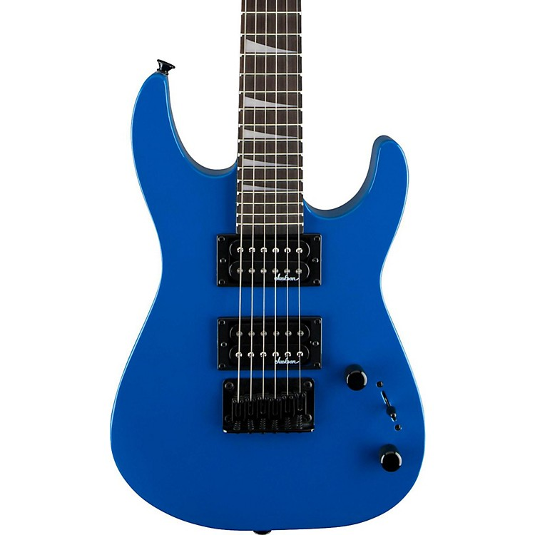 Jackson JS 1X Dinky Minion Electric Guitar Bright Blue
