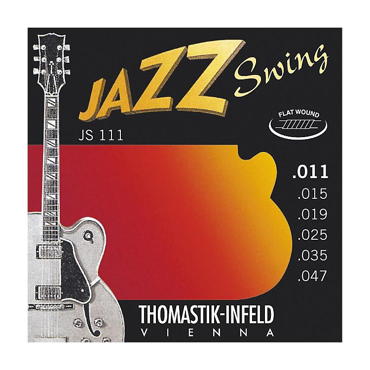 ThomastikJS111 Light Flatwound Jazz Swing Electric Guitar Strings
