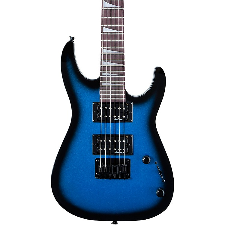 jackson js1x dinky minion electric guitar metallic blue burst music123. Black Bedroom Furniture Sets. Home Design Ideas