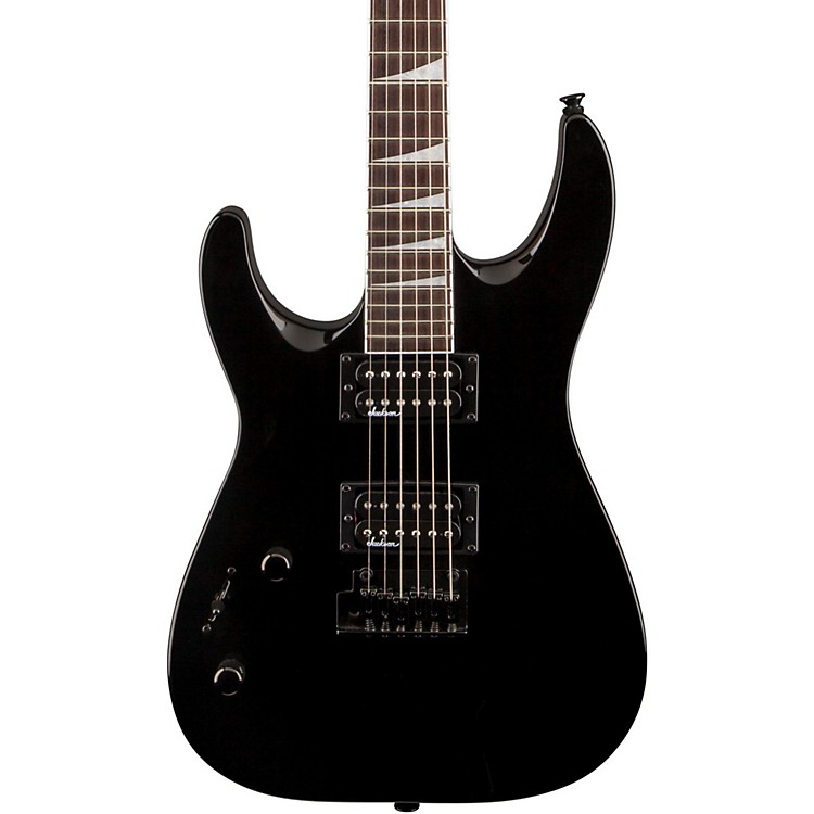 JacksonJS22L Dinky DKA Left-Handed Electric GuitarBlackRosewood Fingerboard