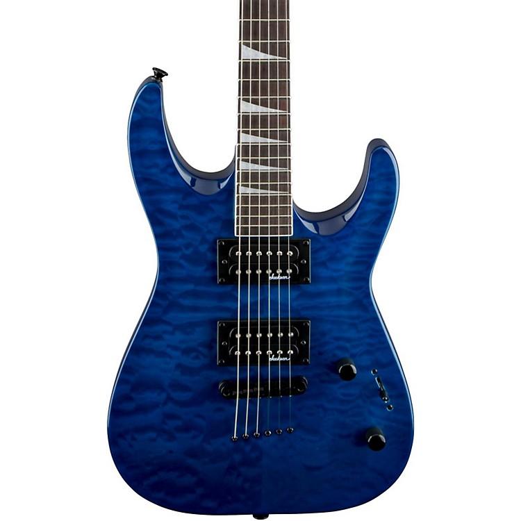 JacksonJS32TQ Dinky DKA, QM Electric GuitarTransparent Blue