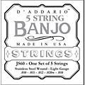 D'AddarioJS60 Stainless Steel Light Banjo Strings-thumbnail