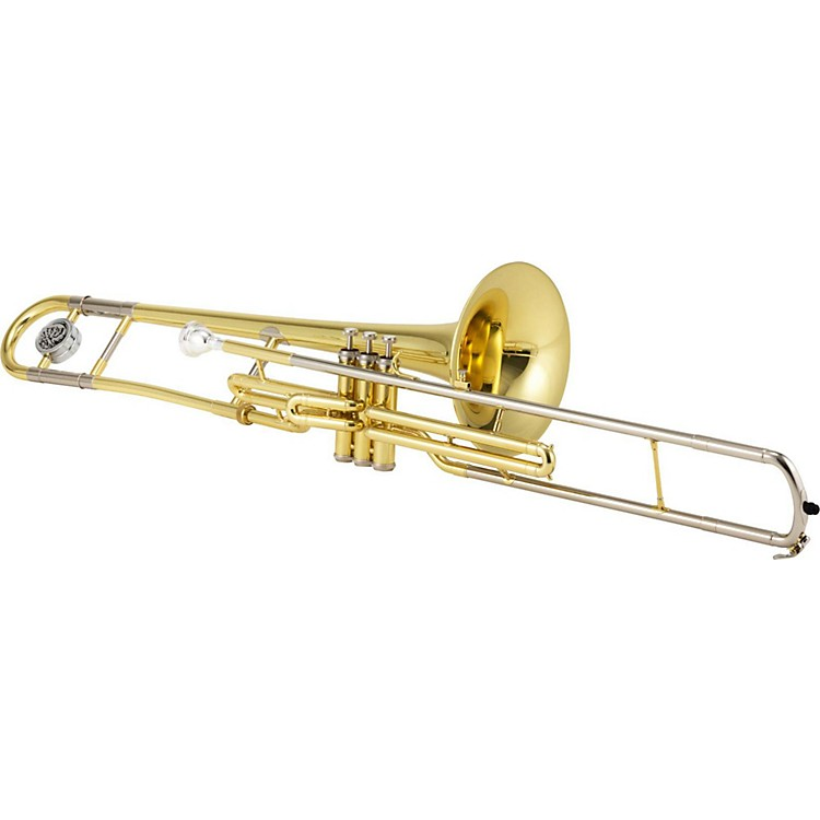Jupiter JTB700V Series Bb Valve Trombone Silver plated Yellow Brass Bell