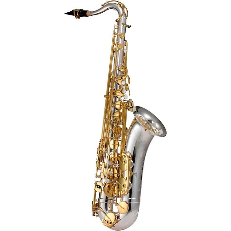 JupiterJTS1100SG Tenor SaxophoneSilver Plated, Gold Lacquer Keys
