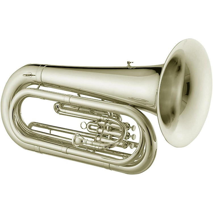 Jupiter JTU1030M Qualifier Series Convertible BBb Marching Tuba Silver plated