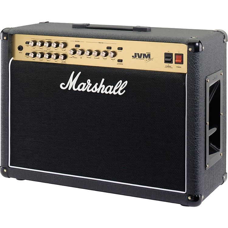 Marshall JVM Series JVM210C 100W 2x12 Tube Guitar Combo Amp Black