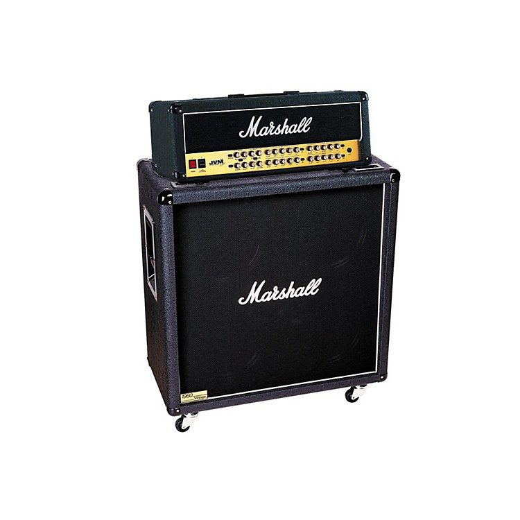 Marshall JVM Series JVM410H 100W Guitar Tube Head with 1960BV 280W 4x12 Cab Straight
