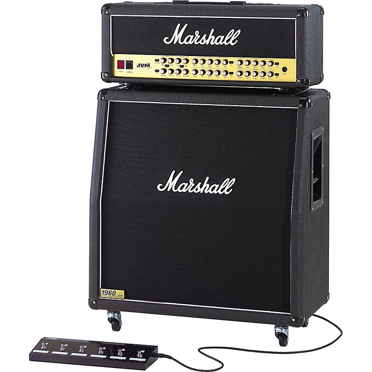 Marshall JVM410H and 1960A Half Stack Straight