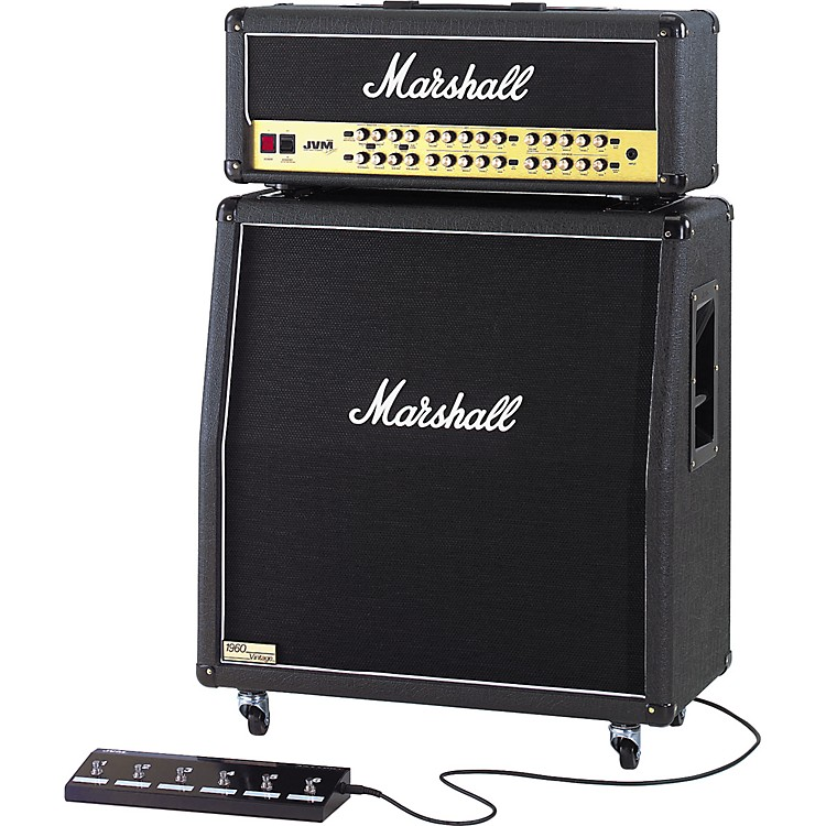 Marshall JVM410H and 1960AV Half Stack Straight