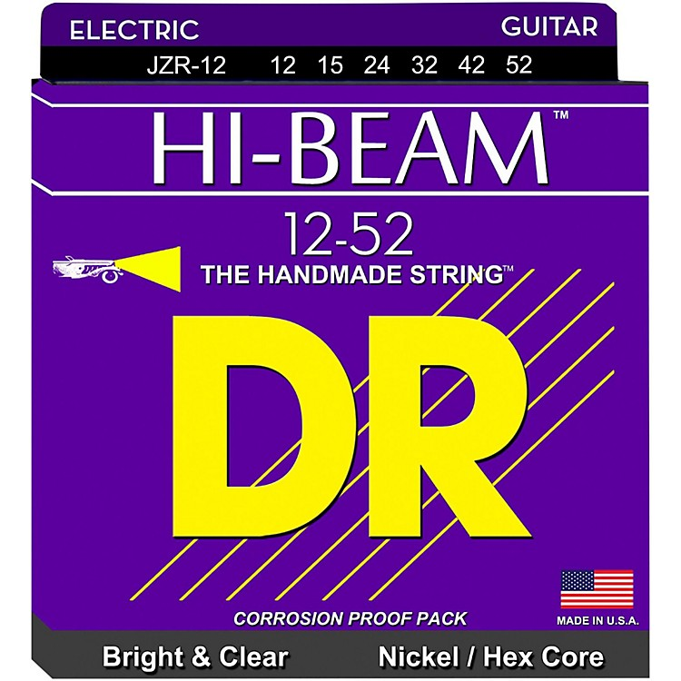 DR StringsJZR12 Hi-Beam Nickel Extra Heavy Electric Guitar Strings
