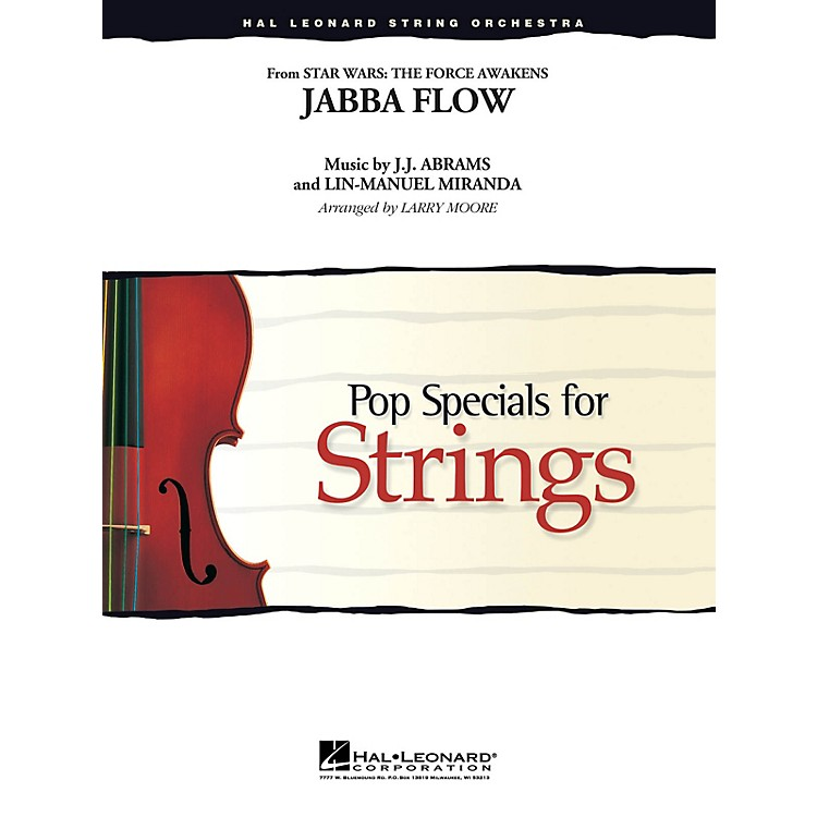 Hal LeonardJabba Flow Easy Pop Specials For Strings Series Softcover Arranged by Larry Moore