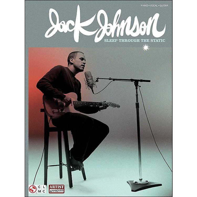 Cherry LaneJack Johnson: Sleep Through The Static arranged for piano, vocal, and guitar (P/V/G)