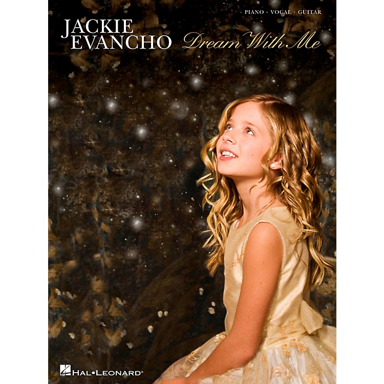 Hal LeonardJackie Evancho - Dream With Me Songbook for Piano/Vocal/Guitar