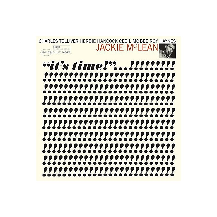 Alliance Jackie McLean - It's Time!