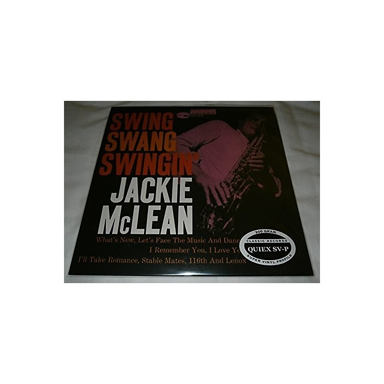 Alliance Jackie McLean - Swing Swang Swingin