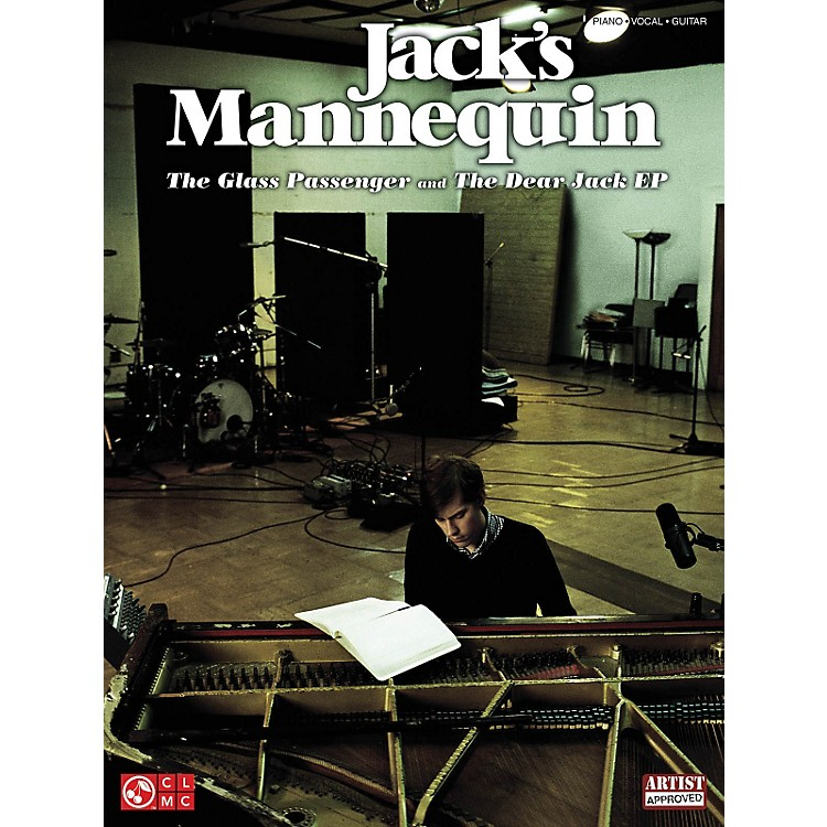 Cherry LaneJack's Mannequin - The Glass Passenger And Dear Jack PVG Songbook