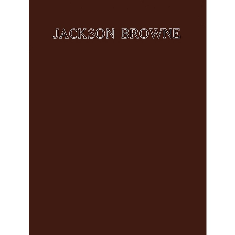 CriterionJackson Browne (8 Songs from His First Two Albums) Criterion Series Softcover Performed by Jackson Browne