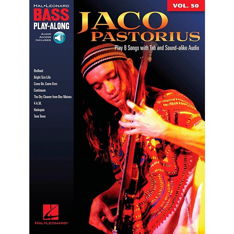 Hal LeonardJaco Pastorius - Bass Play-Along Vol. 50 Book/Online Audio