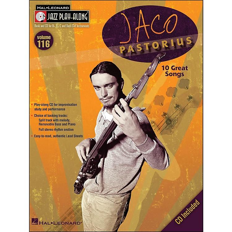 Hal LeonardJaco Pastorius - Jazz Play-Along Volume 116 (CD/Pkg)
