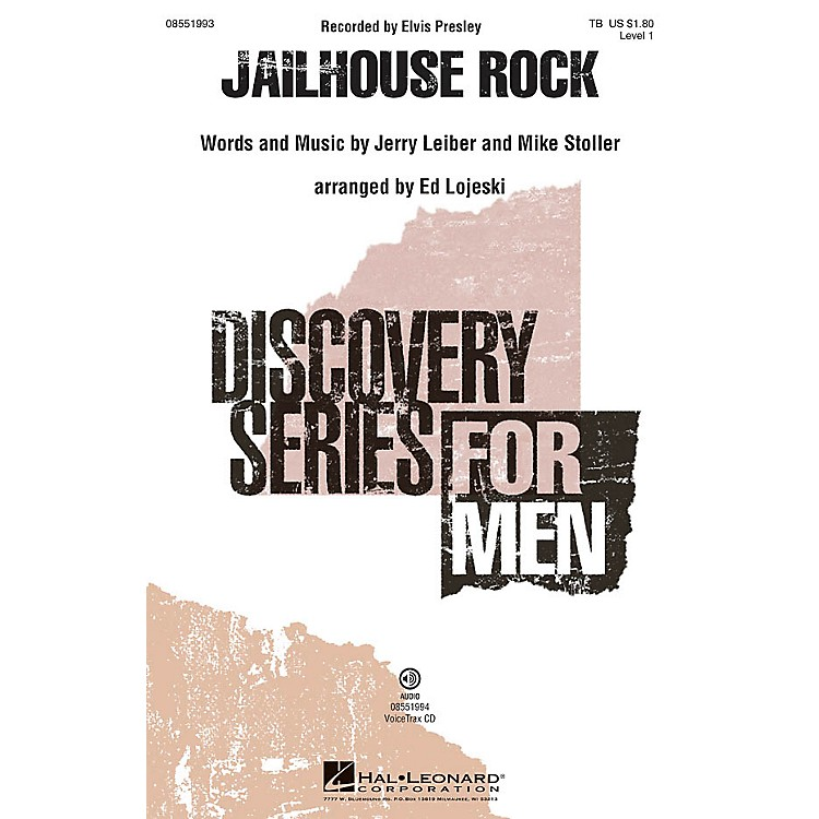 Hal LeonardJailhouse Rock VoiceTrax CD Arranged by Ed Lojeski