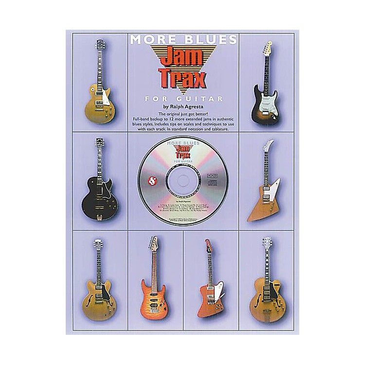 Music SalesJam Trax: More Blues Music Sales America Series Softcover with CD Written by Ralph Agresta