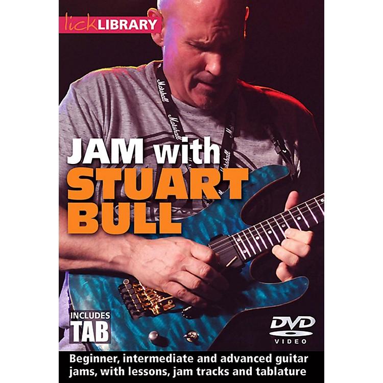 Hal LeonardJam With Stuart Bull - Lick Library DVD