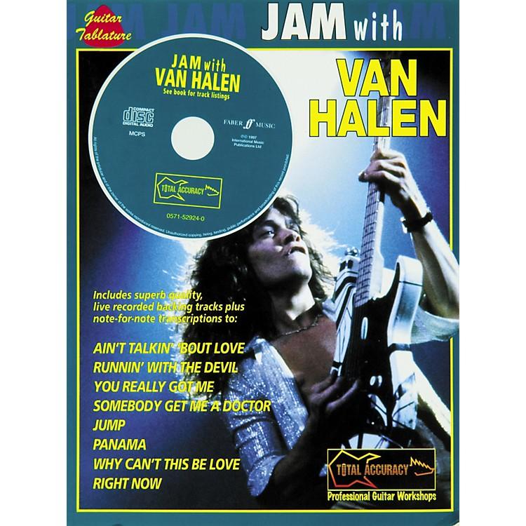 AlfredJam With Van Halen Guitar Tab Book and CD