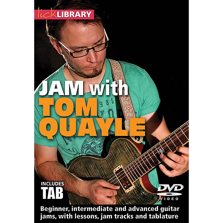 LicklibraryJam with Tom Quayle Lick Library Series DVD Performed by Tom Quayle