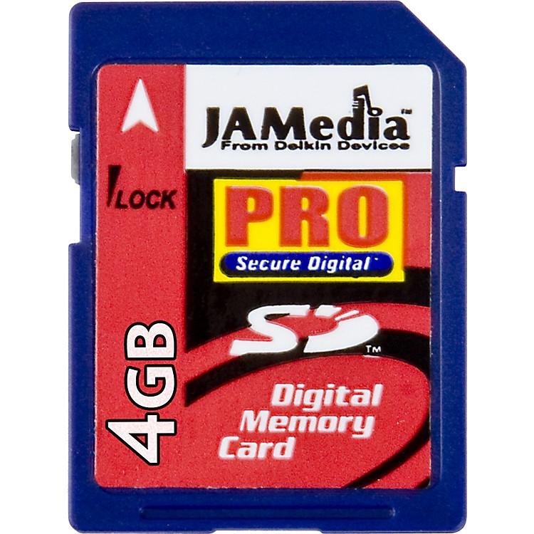 DelkinJamMedia PRO 4GB SD Memory Card