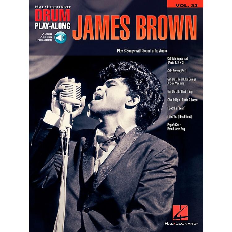 Hal LeonardJames Brown - Drum Play-Along Volume 33 Book/CD