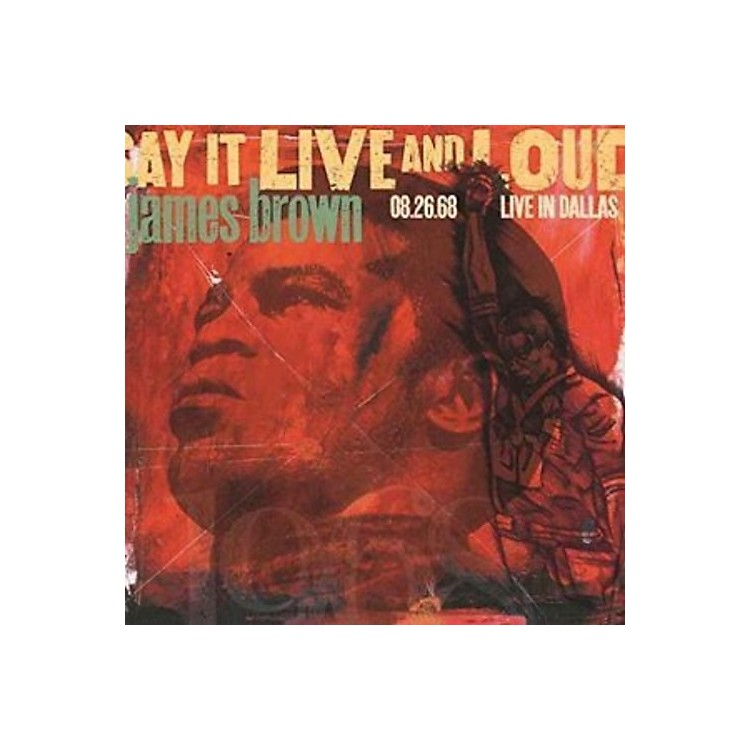 AllianceJames Brown - Say It Live And Loud: Live In Dallas 8.26.68