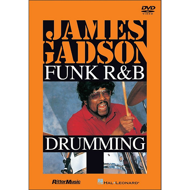 Hal LeonardJames Gadson - Funk/R&B Drumming DVD