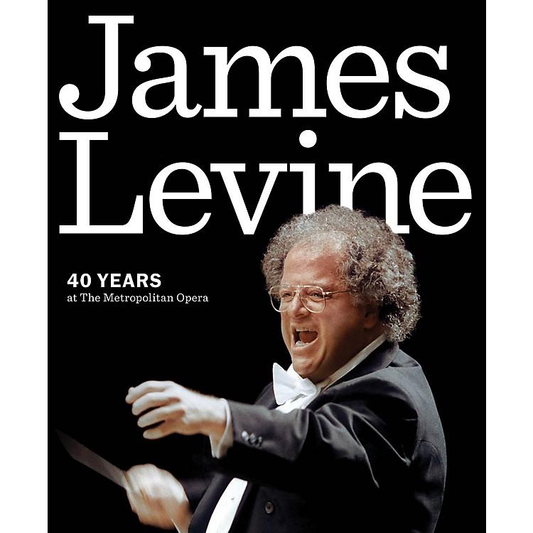Amadeus PressJames Levine (40 Years at the Metropolitan Opera) Amadeus Series Softcover Written by Metropolitan Opera