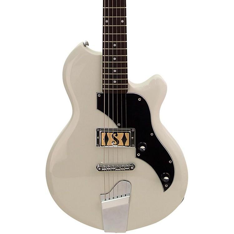 SuproJamesport Electric GuitarAntique White
